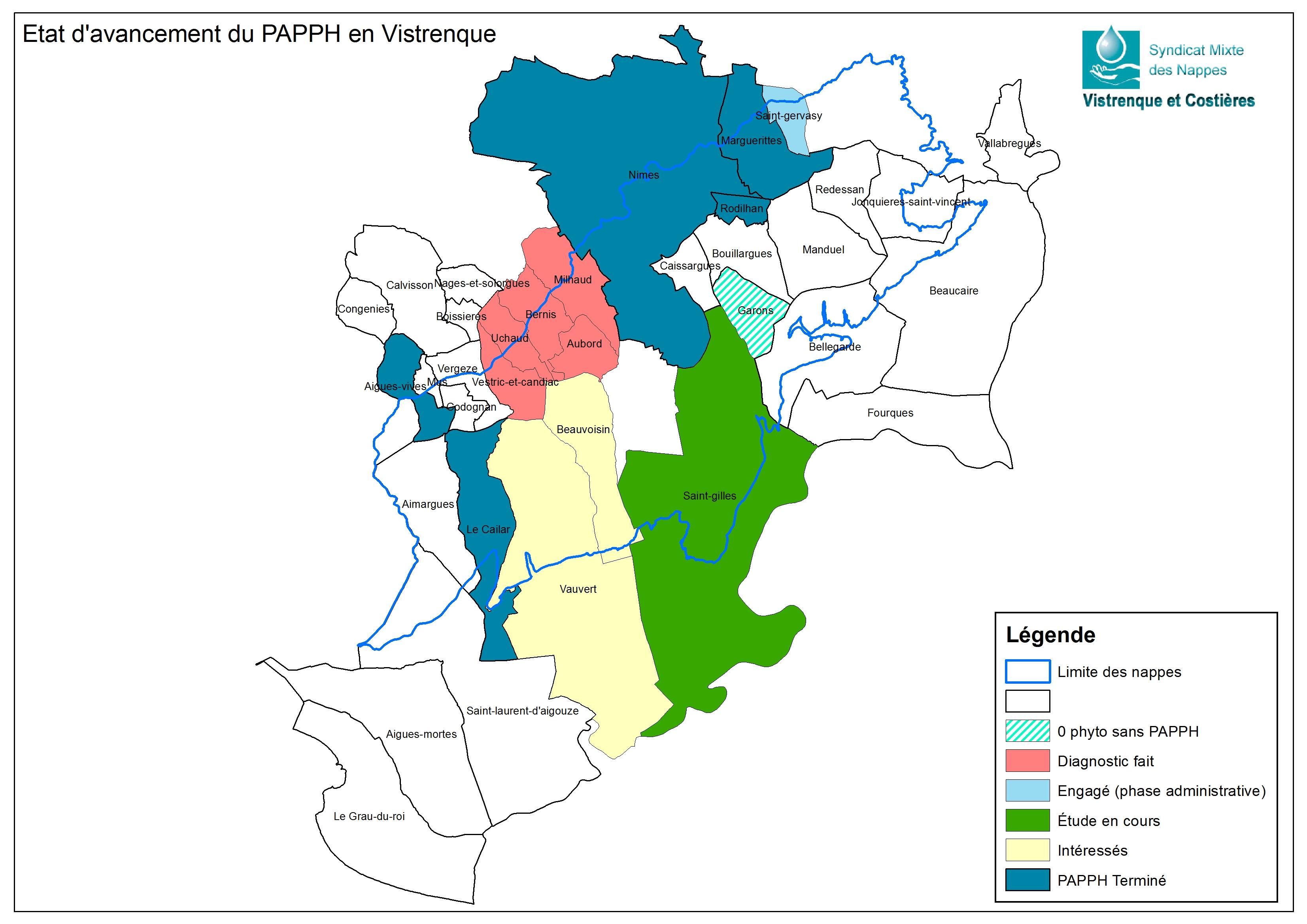 Avancement du PAPPH en Vistrenque